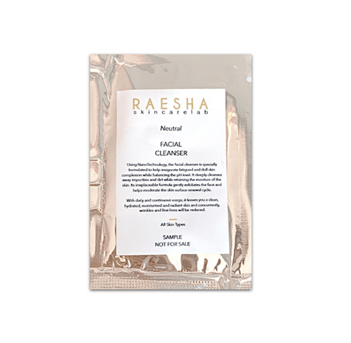 [Trial Sachet] Raesha Facial Cleanser