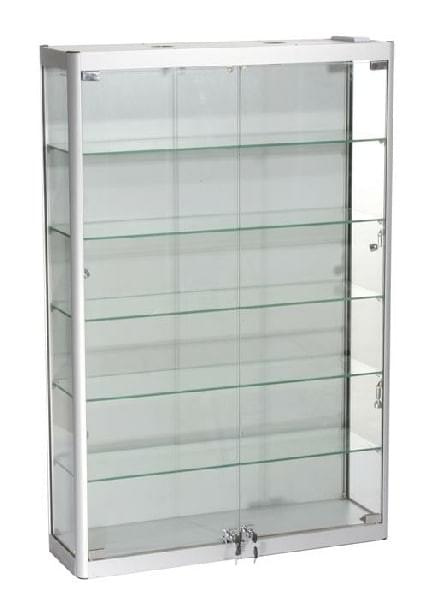 SQ-WC8-12 Glass Wall Cabinet  800mm W x 250mm D x 1200mm H