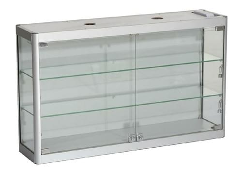 SQ-WC8-6 - Glass Wall Cabinet  800mm W x 250mm D x 600mm H
