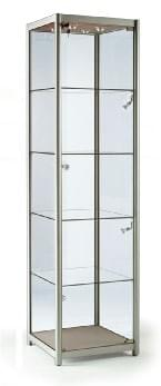 Glass Tower Cabinets