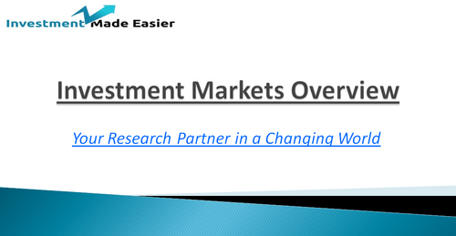 Investment Markets Overview