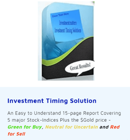 Investment Timing Solution