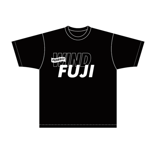 FUJISAN PRODUCT HOMMAGE T-shirt|WIND001-BK