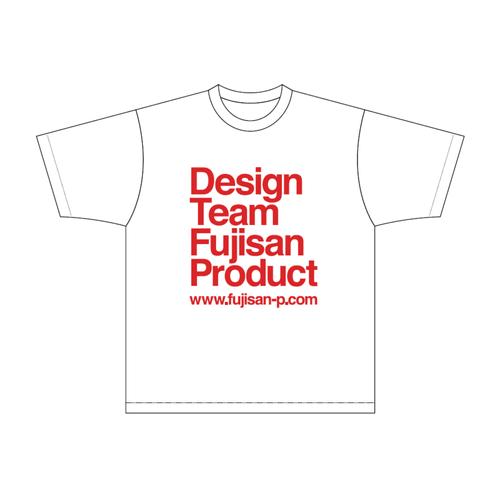 FUJISAN PRODUCT HOMMAGE T-shirt|GRANIPH001-WH