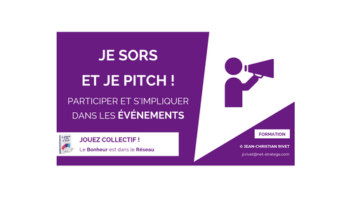 NETWORKING : Je sors et je pitch !