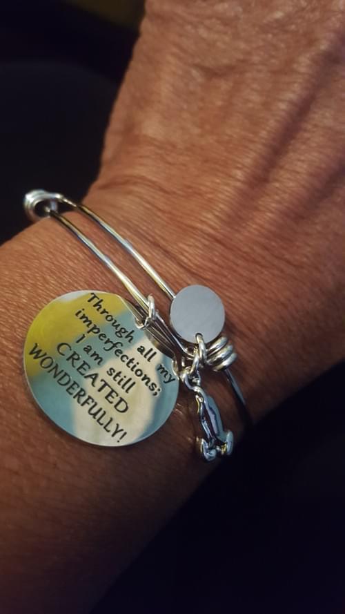 I AM Created Wonderfully Bracelet