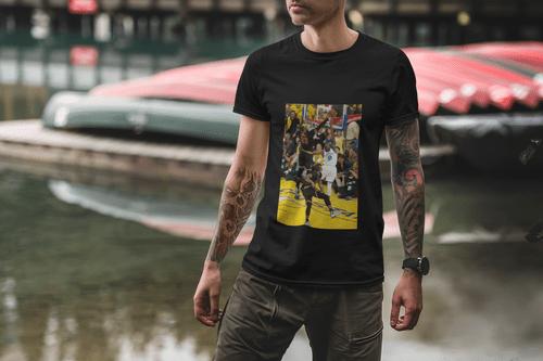 "NBA Lebron James ""The Block"" 2016 NBA Finals Short Sleeve T-Shirt L & XL"