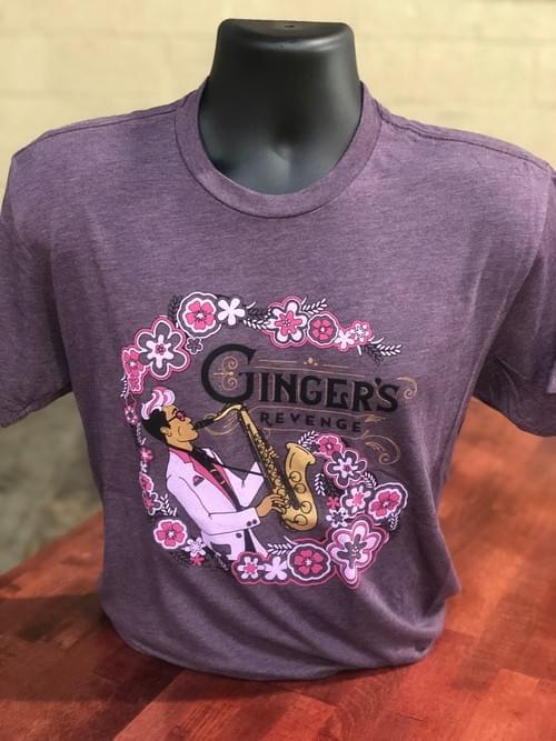 Hibiscus Lavender T-Shirt