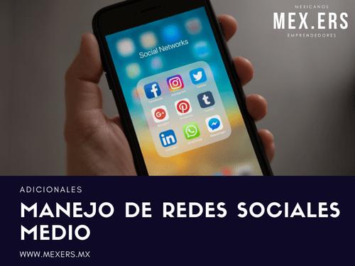 Manejo de Redes Sociales - Medio