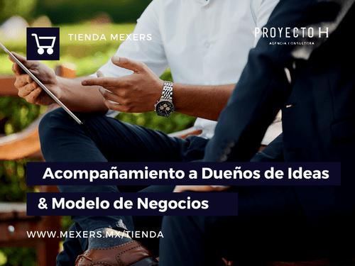 Acompañamiento a Dueños de Ideas & Modelos de Negocios
