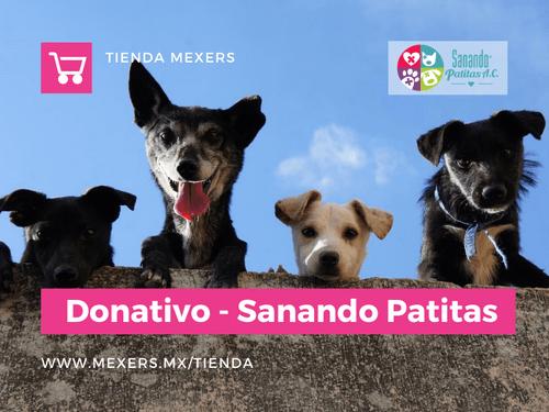 Donativo - Sanando Patitas