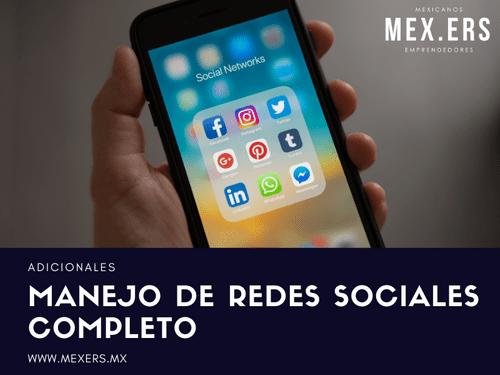 Manejo de Redes Sociales - Completo