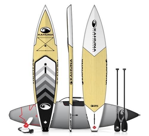 Kahuna Epic Comp Bamboo Stand-Up Paddleboard