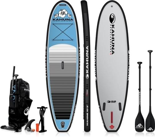Kahuna Wahine Inflatable Stand up Paddleboard Package