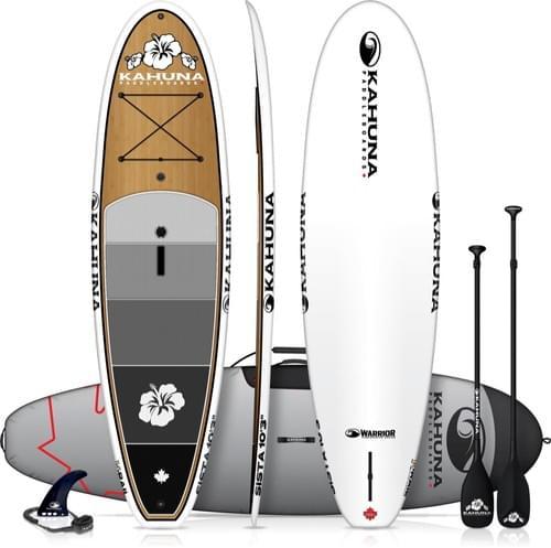 "Kahuna Sista 10'3"" Bamboo Paddleboard Package"