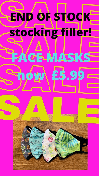 Face mask  - MEDIUM FOR LADIES! Please see new sizes