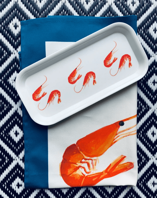 TRAY SETS  Traymendous sets!- Tea towel and Tray combo