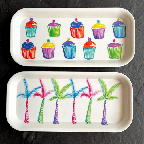 New Funky summer trays