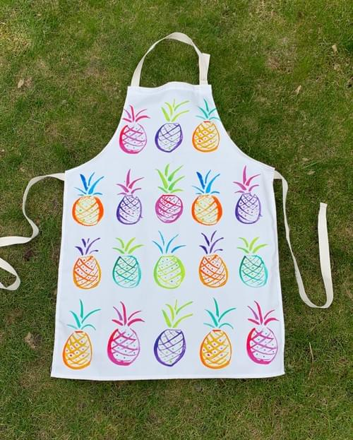 Punchy Pineapples - Apron