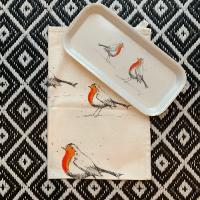 Traymendous tray sets!- Tea towel and Tray combo