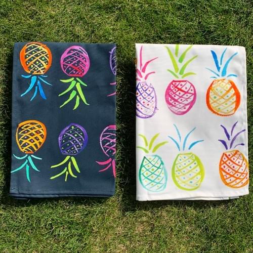 Pair of pineapples