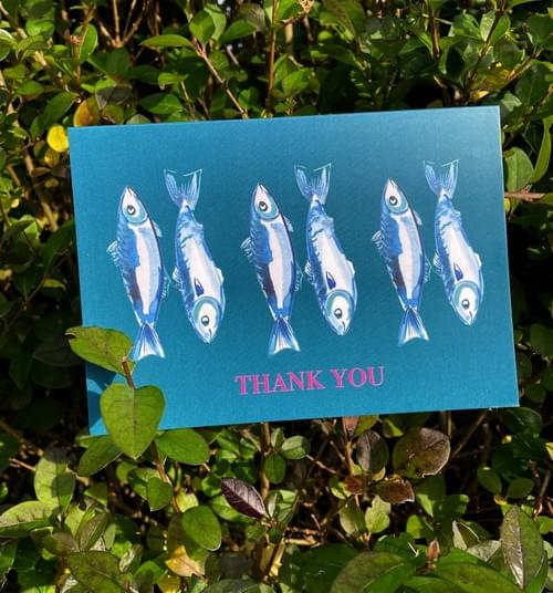 Fresh Fish Thank You