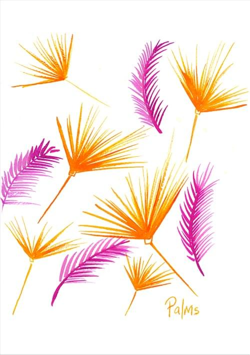 Clashing Palms - FINE ART Limited Edition Print