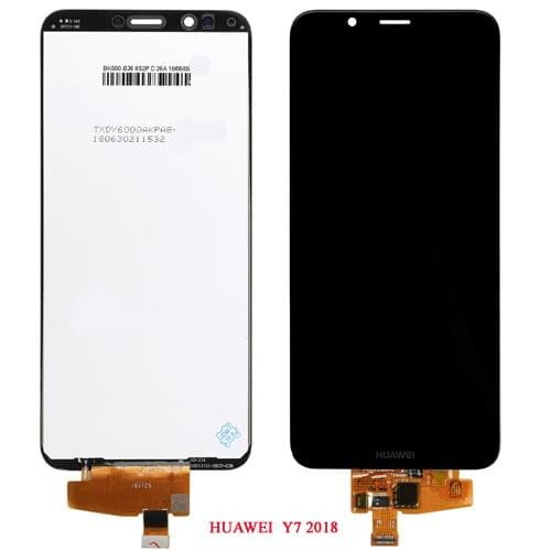 Ecran Huawei Y7 2018 Noir