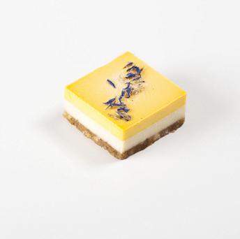Vegan Mango en Limoen Cake