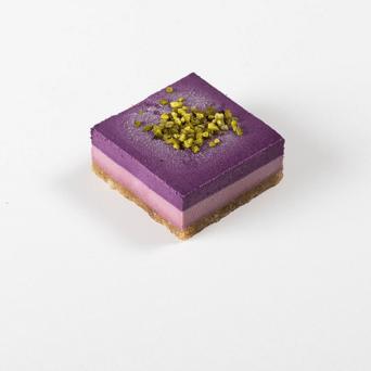 Vegan Framboos en Bosbes Cake