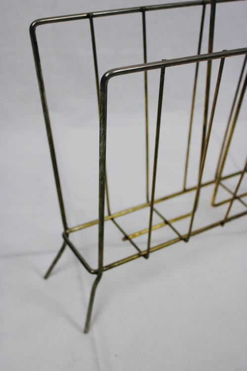 Porte-revue doré