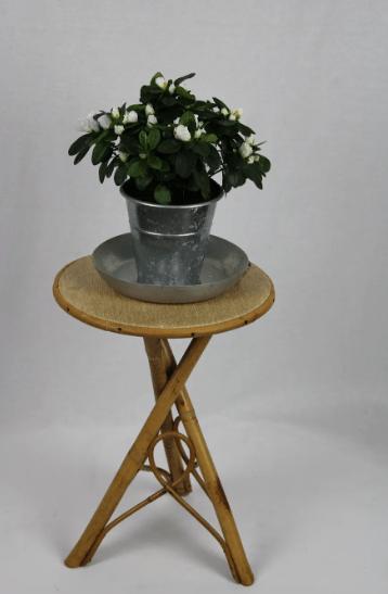 Porte plante rotin