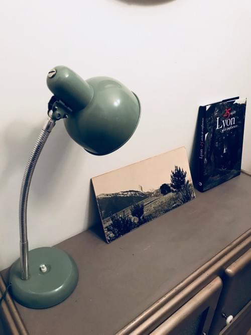 Lampe d'atelier années 50