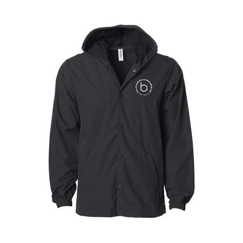B Emblem Button jacket