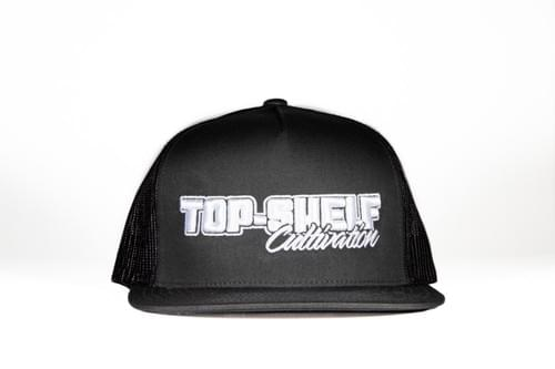 TOP-SHELF CLASSIC MESH SNAP BACK (charcoal)