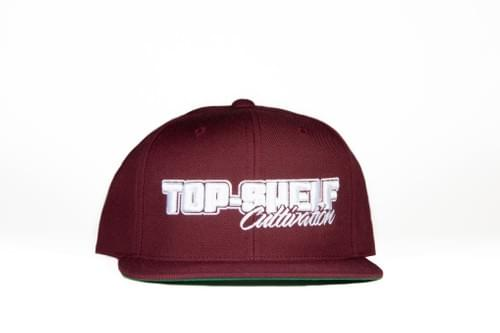 TOP-SHELF CLASSIC SNAP BACK (BURGUNDY)