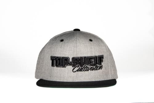 TOP-SHELF CLASSIC SNAP BACK (heather/black)