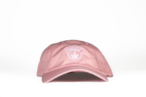 TOP-SHELF BADGE DAD HAT (pink)