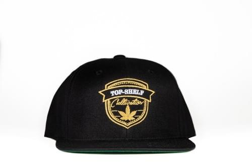 TOP-SHELF BADGE SNAP BACK (black)