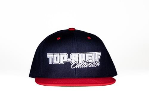 TOP-SHELF CLASSIC SNAP BACK (navy/red)