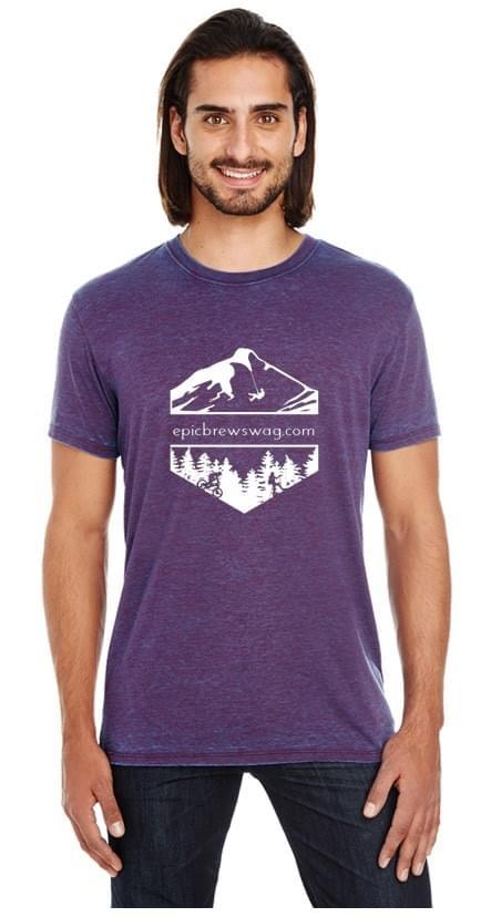 Threadfast Unisex Cross Dye Short Sleeve T-Shirt