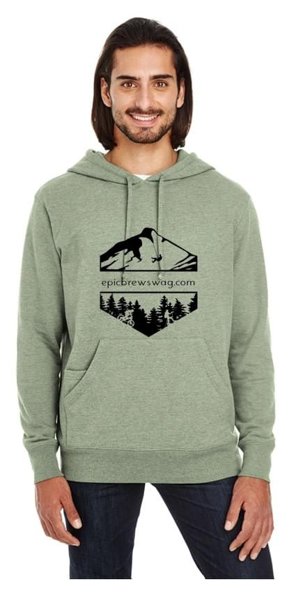Threadfast Unised Triblend French Terry Hoodie