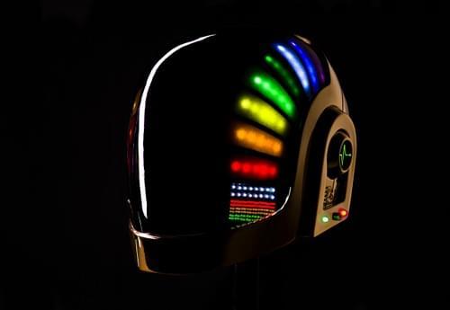 Daft Punk - Guy-Manuel De Homem-Christo - Helmet Kit - Discovery Era - Built In LED Mounts