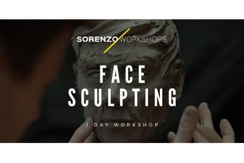 Face Sculpting Workshop - 1 Day - Cass Art Glasgow
