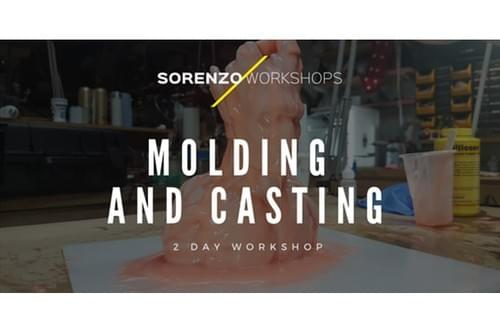 Brush-Up Molding and Casting Workshop  - 2 Day Workshop - Cass Art Glasgow