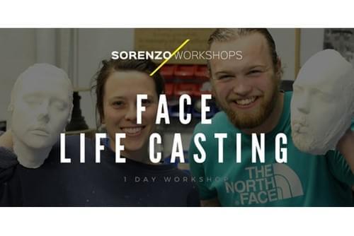 Face Life Casting Workshop - 1 Day