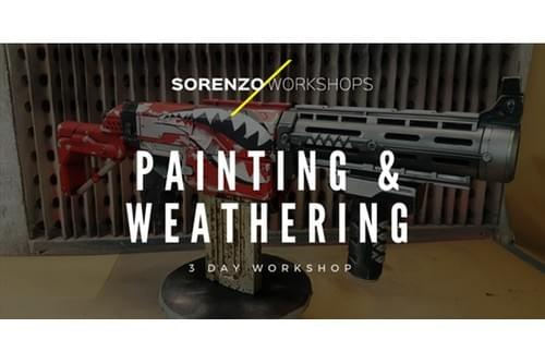 Painting & Weathering - 3 Day Workshop