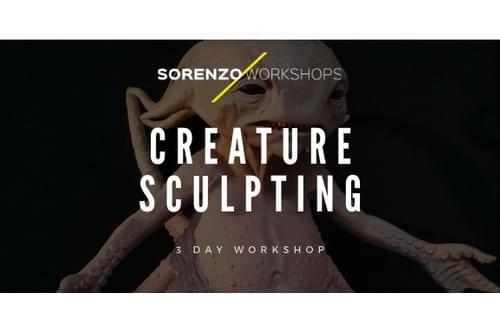 Creature Sculpting - 3 Day Workshop