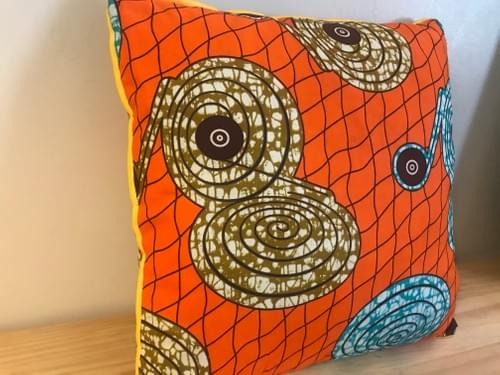 Chungwa (Orange) Decorative Pillowcase, 18x18in.