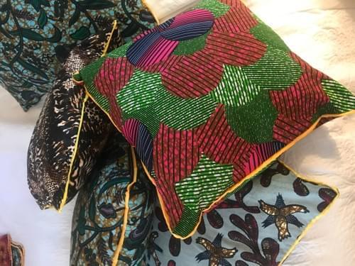 Green Mti pillowcase 18x18in